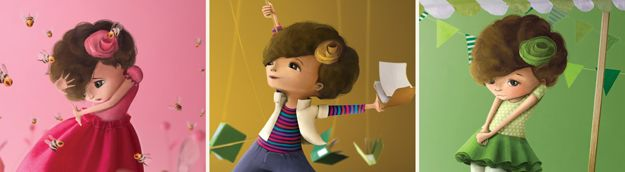Children's book illustration character design