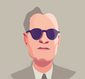 portrait illustration for disabled famous people