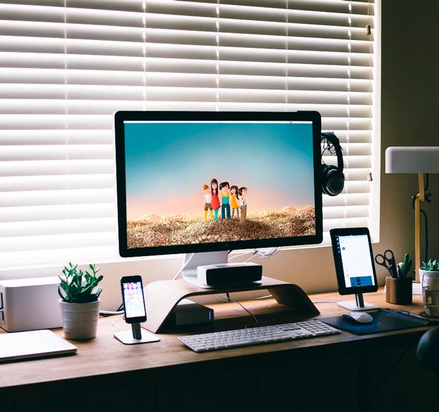 illustration desktop image