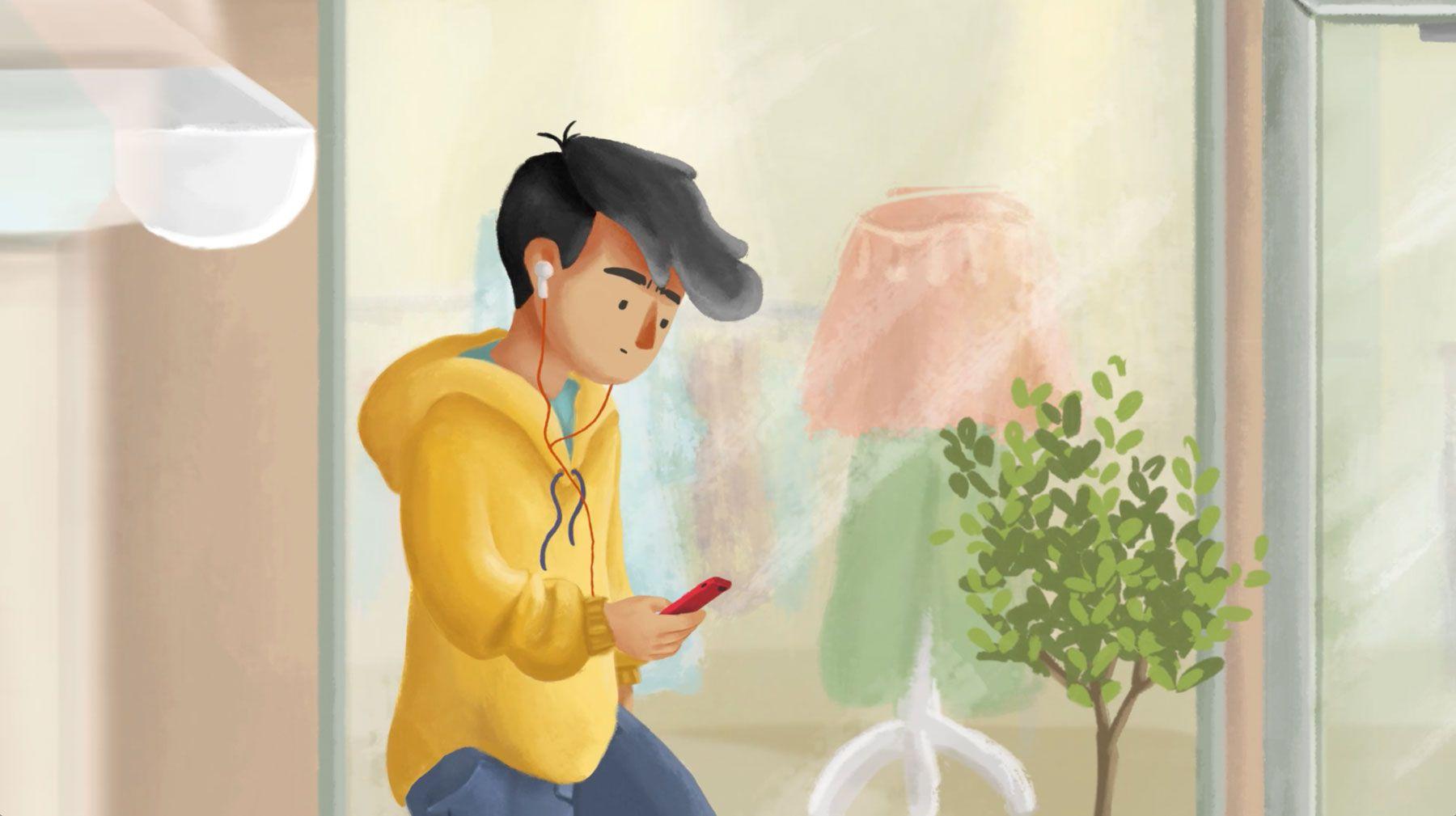 Digital illustration for animation - Character design
