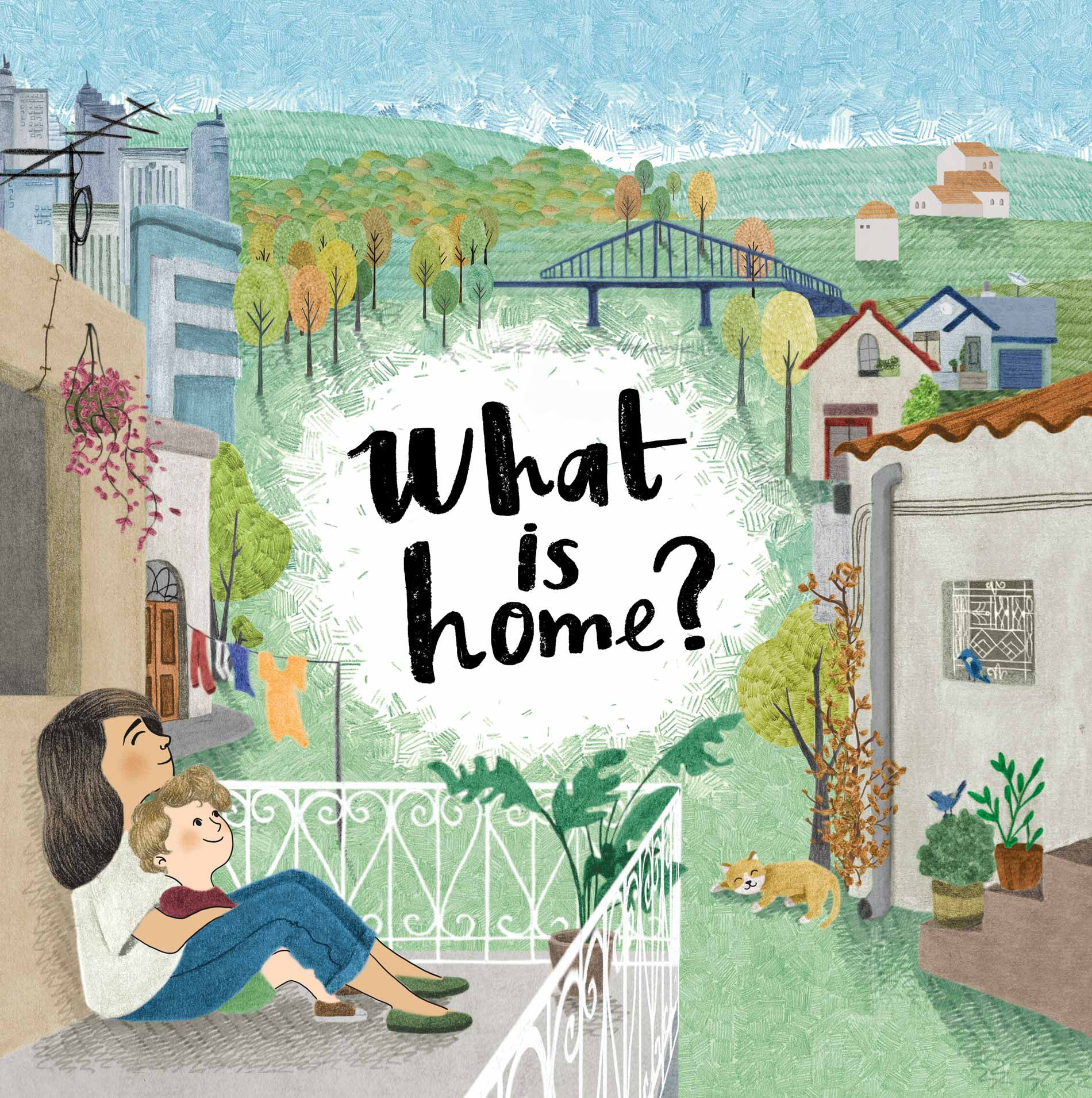 What is Home children's book illustration