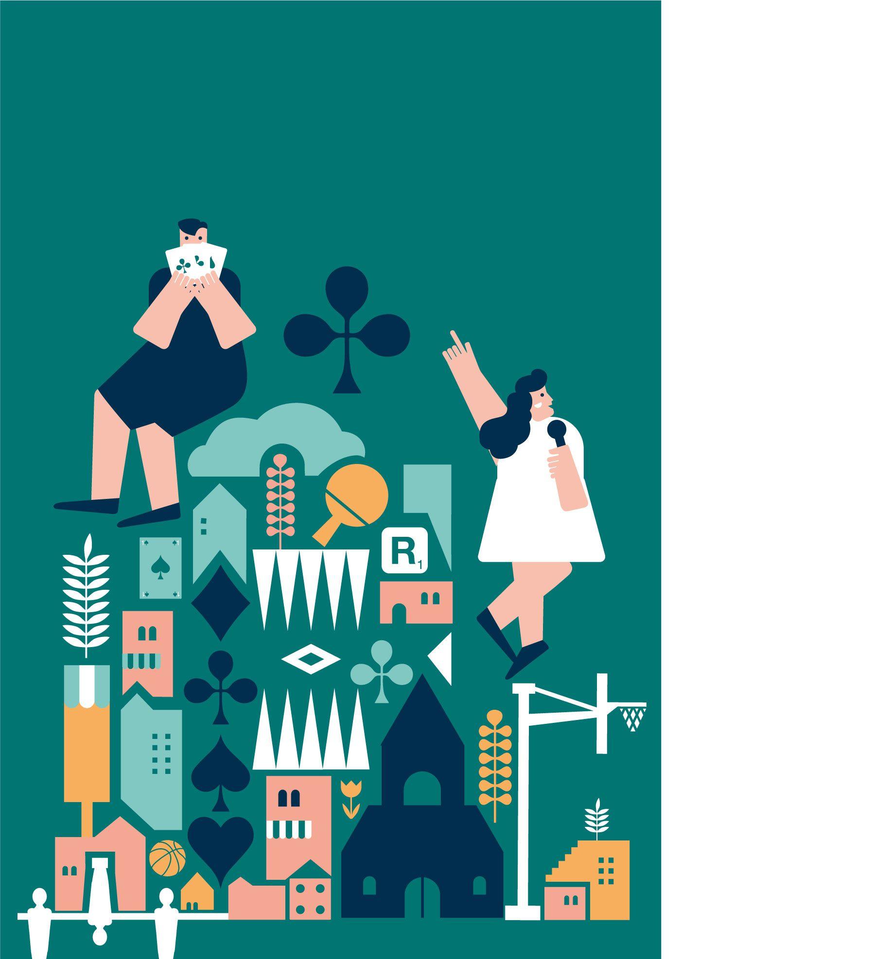 cultural festival illustration