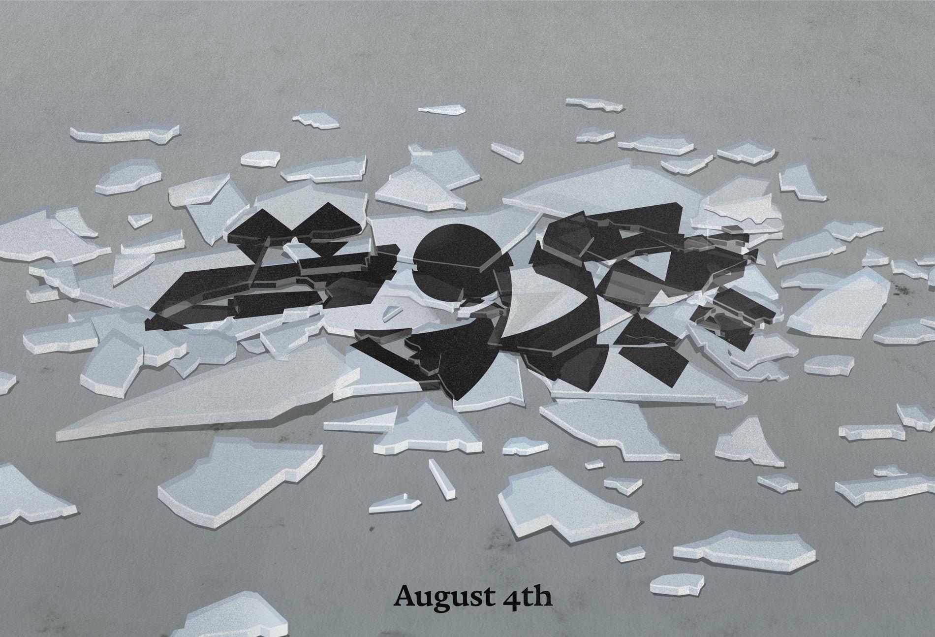 beirut blast illustration broken glass