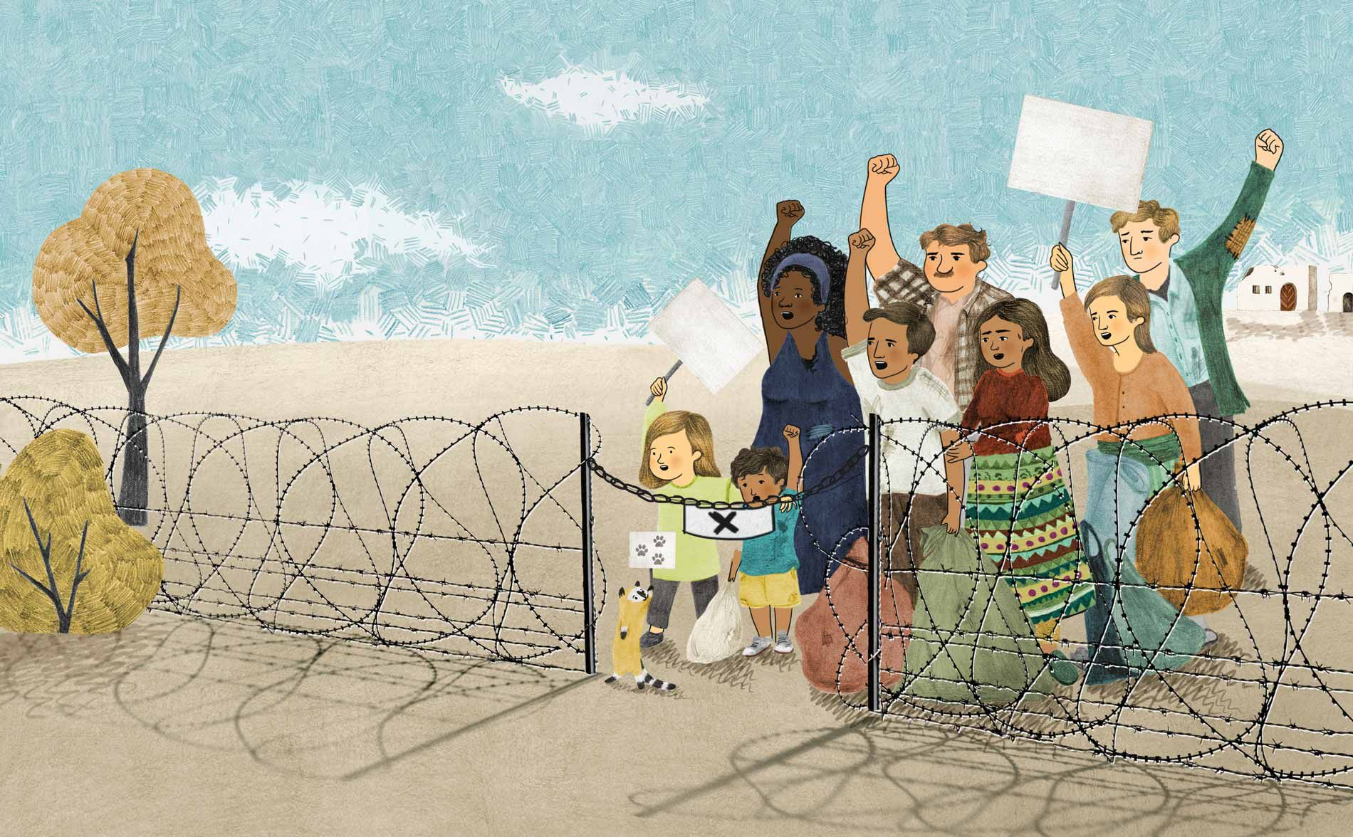 Children in our World book illustration diversity and anti-racism