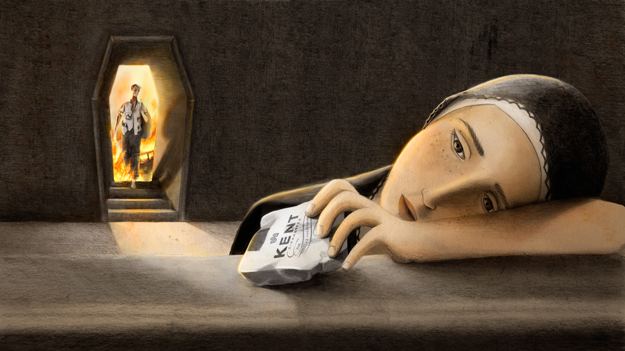 Illustrating the memories of Syrian refugees