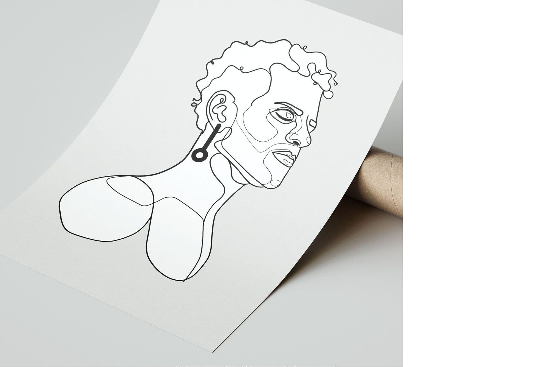 Halim portrait illustration