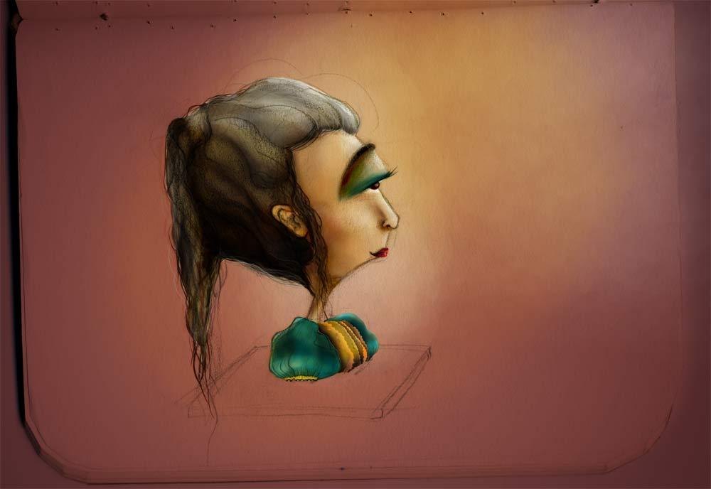 character illustration by hanane kai